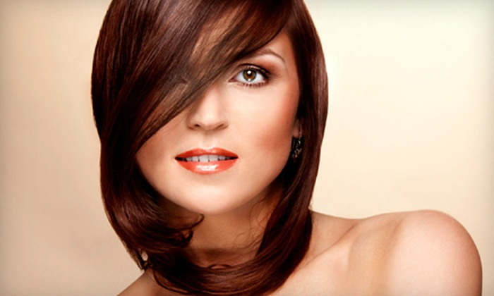 Maria Bonita Barber and Hair Styling - Eastside: Women's Cut, Shampoo, and Blow-Dry with Oil Treatment or Color at Maria Bonita Barber and Hair Styling (Up to 63% Off)