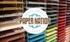 60% Off Scrapbooking Supplies & More