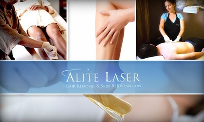 Alite Laser Hair Removal and Waxing - Multiple Locations: $35 for $65 Worth of Waxing Services at Alite Laser Hair Removal & Skin Rejuvenation