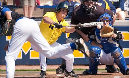 University of Michigan Men's Baseball on Tue., May 8 at 7PM: Reserved Chairback Seating - University of Michigan Men's Baseball in Ann Arbor