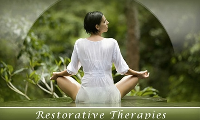 Restorative Therapies, LLC - Hoover: One-Hour Massage or an Energy Healing Session at Restorative Therapies, LLC. Choose Between Two Options.