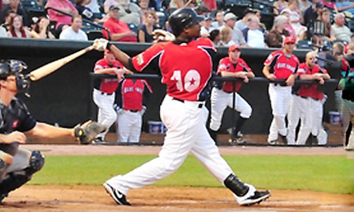 Southern Maryland Blue Crabs - Waldorf: Southern Maryland Blue Crabs Baseball Package for One or Four in Waldorf