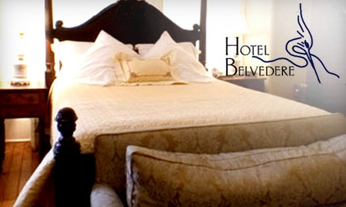 Hotel Belvedere - Sydenham: $119 for a One-Night Stay in a King or Queen Suite at the Hotel Belvedere (Up to $259 Value)