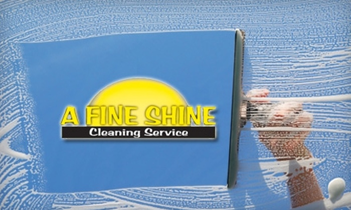 A Fine Shine - Edmond: $49 for $100 Toward Window-Washing Services from A Fine Shine