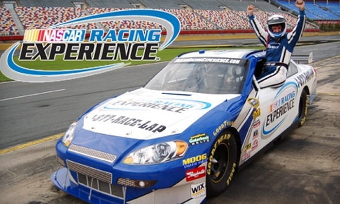 Up To 51 Off A Nascar Racing Experience Charlotte Motor