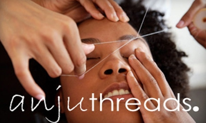 anjuthreads - Center City East: $11 for Eyebrow and Upper-Lip Threading at Anjuthreads ($21 Value)