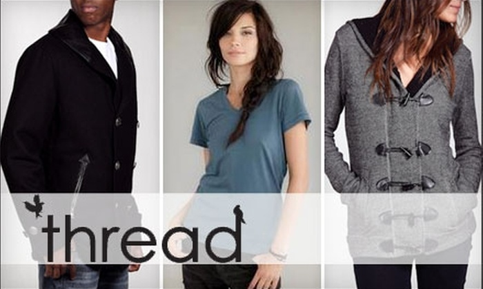 Thread - South Wedge: $15 for $30 Worth of Designer Apparel, Accessories, and Gifts at Thread