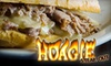 Hoagie Steak Out - LA - Downtown San Jose: $7 for $15 Worth of Steak Sandwiches, Beverages, and More at Hoagie Steak Out