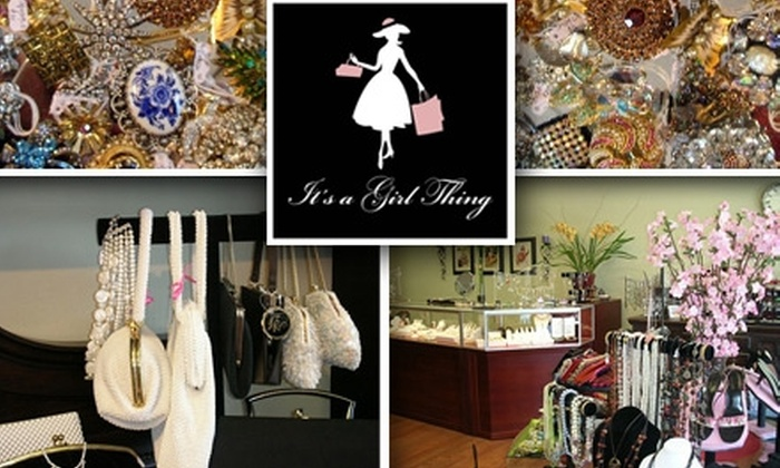 It's a Girl Thing - Campbell: $15 for $30 Worth of Upscale Accessories at It's a Girl Thing