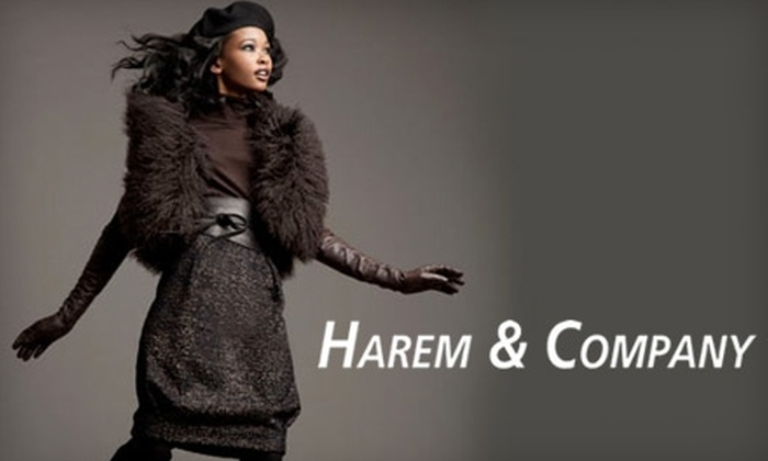Harem & Company - Springfield: $35 for $75 Worth of Women's Designer Apparel, Shoes, and Accessories at Harem & Company