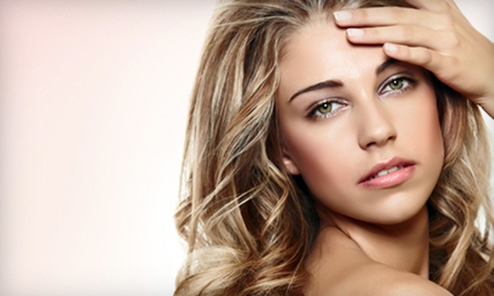 A Day Away Salon & Spa - Fort Wayne: Haircut and Style with All-Over Color or Highlights, or Keratin Treatment at A Day Away Salon & Spa (Up to 67% Off)