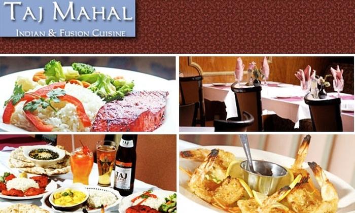Taj Mahal Restaurant - Dupont Circle: $10 for $25 Worth of Indian Food at Taj Mahal
