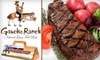 Gaucho Ranch - Little Haiti: $20 for $40 Worth of South American Meats and More at Gaucho Ranch