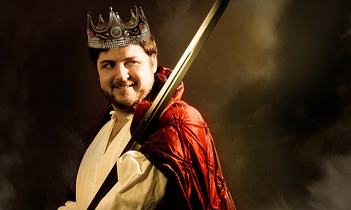 """Salty Dinner Theater - Multiple Locations: $15 for Two Tickets to Salty Dinner Theater's """"King Arthur & Lancelot: For the Love of Guinevere"""" (Up to $30 Value)"""