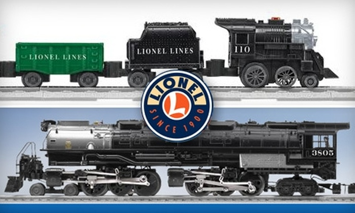 Lionel Electric Trains - White Plains: $30 for $60 Worth of Electric Toy Trains and Accessories from Lionel Electric Trains