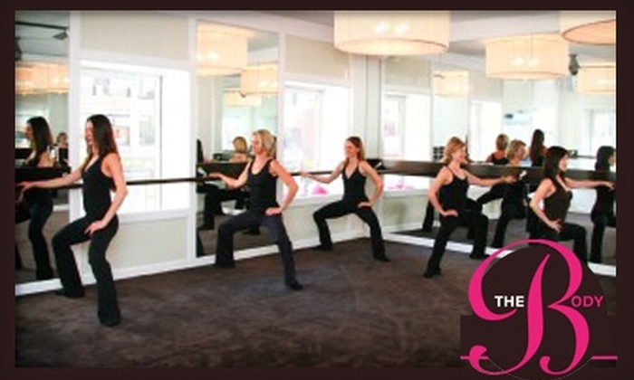 The Body - Upper East Side: $99 for One Month of Unlimited Barre Method Classes at The Body