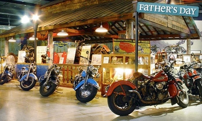 Wheels Through Time Museum - Maggie Valley: $12 for Two Adult Tickets to Wheels Through Time Museum in Maggie Valley (Up to $24 Value)