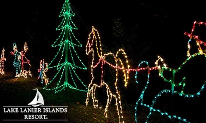Magical Nights of Lights at Lake Lanier Islands Resort in Lake ...