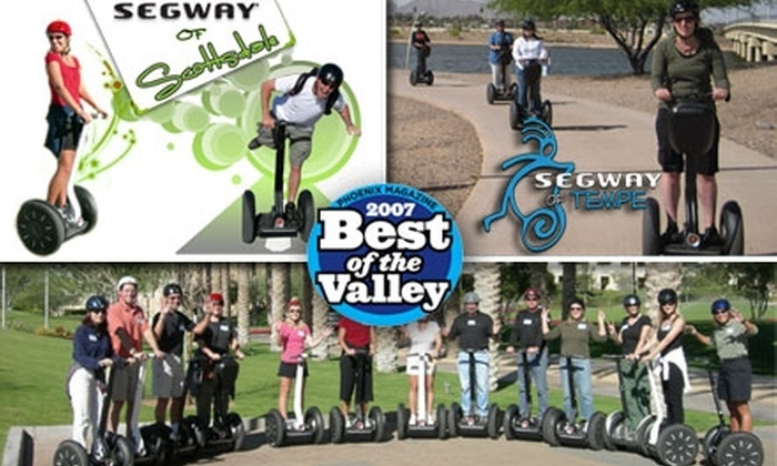 Segway of Scottsdale - Multiple Locations: $39 for a 90-Minute Twilight Segway Tour from Segway of Tempe and Scottsdale ($75 Value)