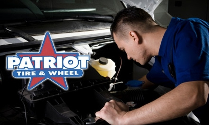 Patriot Tire & Auto - Multiple Locations: $12 for a Standard Oil Change or $29 for an Alignment at Patriot Tire & Auto