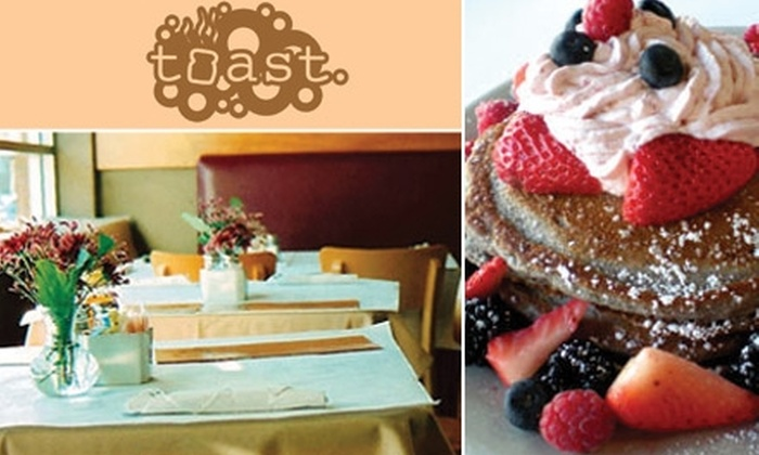 Toast - Multiple Locations: $10 for $20 Worth of Brunch and Beverages at Toast