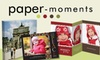60% Off at Paper-Moments.com