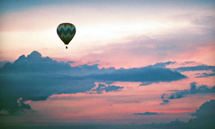 Stillwater Balloon - Lakeland Shores: $399 for a Private Sunrise or Afternoon Hot Air Balloon Experience for Two from Stillwater Balloon in Lakeland ($735 Value)