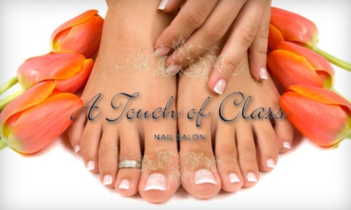 Touch of Class Nails - Northeast Colorado Springs: $30 for Mani-Pedi and 10% Off Next Appointment at Touch of Class Nails