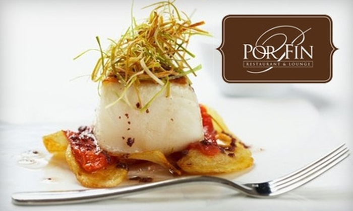 Por Fin Restaurant & Lounge - Crafts: $25 for $50 Worth of Spanish and Mediterranean Cuisine at Por Fin Restaurant & Lounge