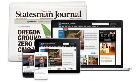 26- or 52-Week Sunday Delivery, or 52-Week Digital-Only Subscription of the Statesman Journal (Up to 81% Off)