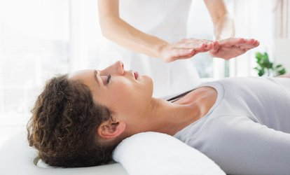 image for One-Hour Reiki Session or a 30 min Reiki Session and 30 min Tarot Card Reading with Vanessa Harris (Up to 64% Off)