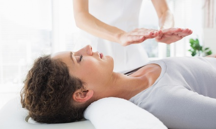 One or Three 50Minute Reiki Sessions at Soulshine Massage Bliss (Up to 52% Off)