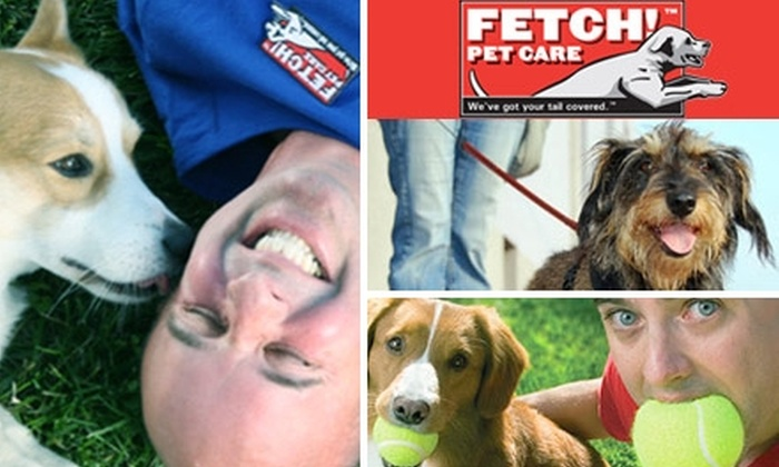 Fetch Pet Care - Southide Estates: $20 for $50 Worth of Pet-Care Services from Fetch! Pet Care