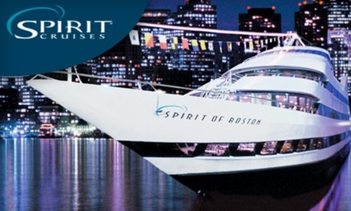 "Spirit of Boston - South Boston: $55 for a Dinner Cruise of Boston Harbor Aboard ""Spirit of Boston"" (Up to $111.22 Value)"