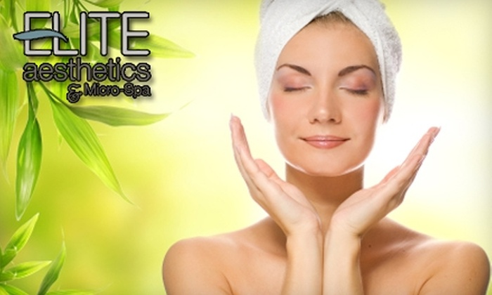 Elite Aesthetics & Micro-Spa - Green Bay: $40 for a Full-Body Massage and Life Care Consultation at Elite Aesthetics & Micro-Spa ($105 Value)