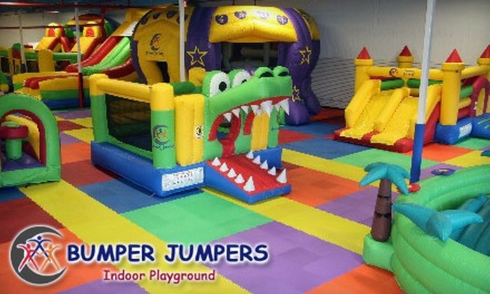 Bumper Jumpers - Greensboro: $8 for Three Open-Play Visits to Bumper Jumpers ($26 Value)