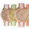 Women's Crystal Pavé Dial Watch