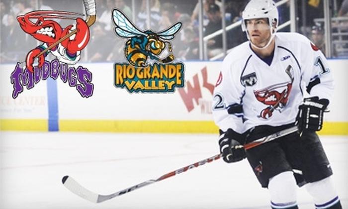 Bossier-Shreveport Mudbugs - Bossier City: $18 for Two Tickets to Bossier-Shreveport Mudbugs Hockey Game on December 17 (Up to $38 Value)