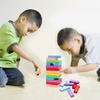 48-Piece Wooden Tumbling Tower Set