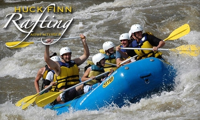 Huck Finn Rafting Adventures - Hot Springs: $22 for a Half-Day Whitewater-Rafting Trip Guided by Huck Finn Rafting Adventures