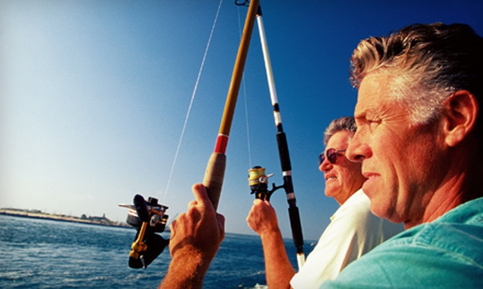 Obsession Charters - Cape Canaveral: Shark or Regular Fishing Trip with Restaurant Voucher from Obsession Charters in Cape Canaveral (Up to 55% Off)