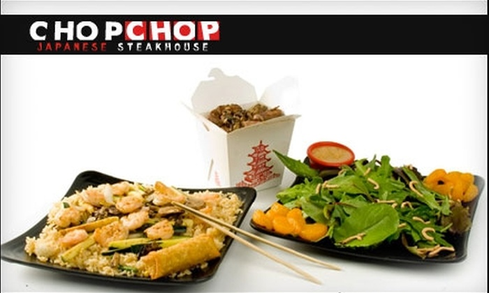 Chop Chop Japanese Steakhouse - Amarillo: $10 for $20 Worth of Japanese Cuisine and Drinks at Chop Chop Japanese Steakhouse