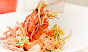 Address Restaurant: Plat et desserts pour 2 convives au déjeuner et au dîner dès 35,90 € à l'Address Restaurant