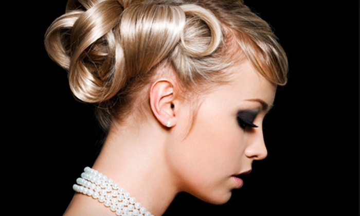 Artizon Hair Studios - Port Orange: Bridal Makeover for One or Four with Hair, Makeup, and Mani-Pedis at Artizon Hair Studios (Up to 58% Off). Three Options Available.