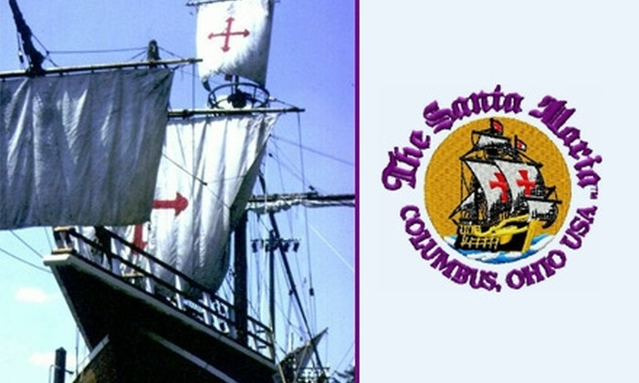 Santa Maria - Downtown Columbus: $8 for Six Admissions to the Santa Maria Ship and Museum