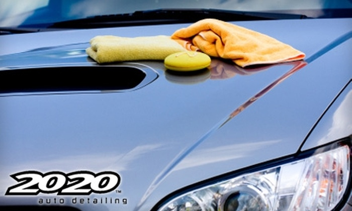 20 20 Auto Detailing - Hickham: $40 for Wash and Seal Detail ($89.99 Value) or $17 for 12oz. Bottle of GLARE Professional Polish ($34.95 Value) at 20 20 Auto Detailing