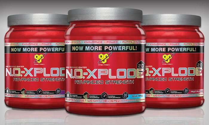 N.O.-Xplode 2.0 Supplement: $39.99 for Two 30-Serving Containers of N.O.-Xplode 2.0 ($99.98 List Price). Three Flavors Available. Free Shipping.