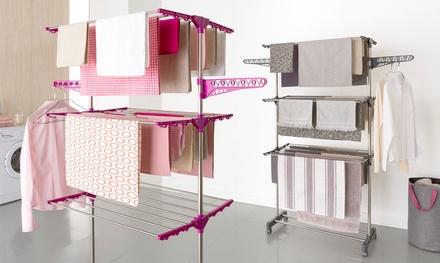 Séchoir Infinity, 18m d'étendage, 2 coloris au choix à 29,99 €