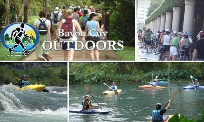Bayou City Outdoors - Houston: $12 for a 45-Day Membership to Bayou City Outdoors ($32 Value)