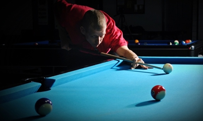 Georgia Billiard Academy - Marietta: Billiards Instruction at Georgia Billiard Academy in Marietta. Two options available.